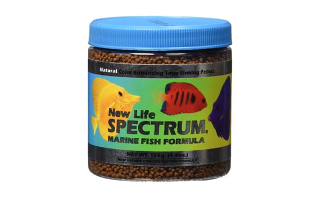 new life spectrum fish food