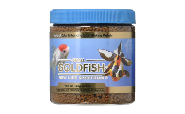 new life spectrum goldfish food