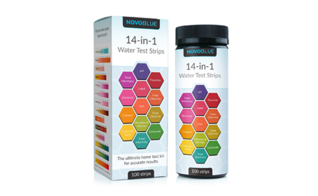 novoblue water test kit