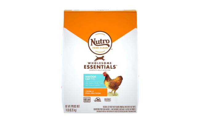 nutro indoor cat food
