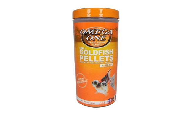 omega one goldfish food