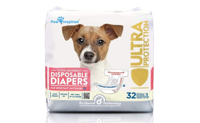 paw inspired ultra protection dog diapers
