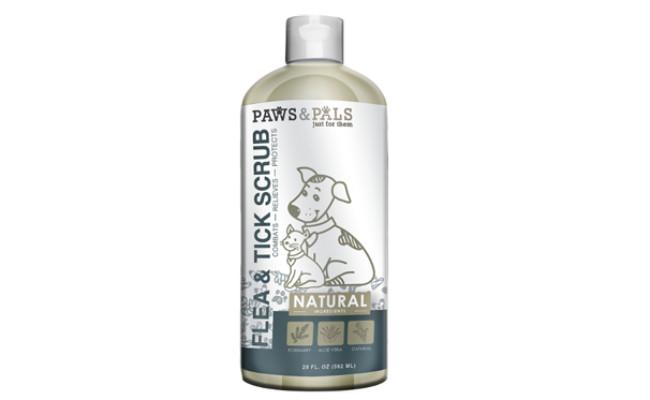 paws and pals flea and tick shampoo
