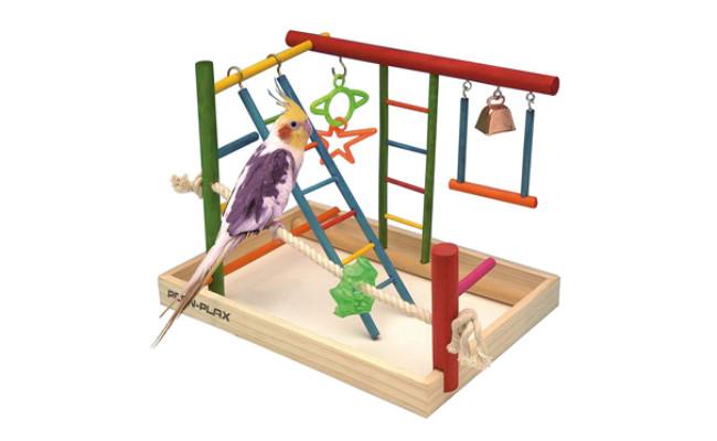 penn plax parakeet toy