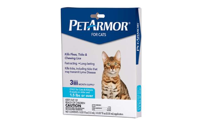 petarmor flea treatment for cats