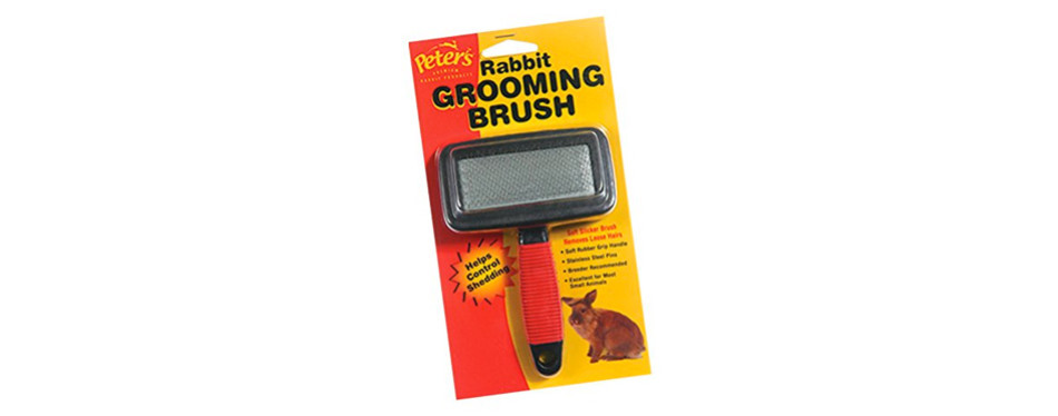 peters grooming brush for rabbits