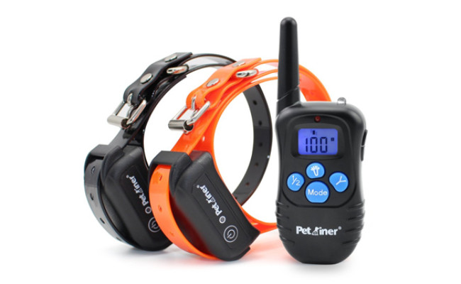 petrainer waterproof dog shock collar