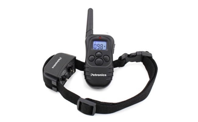 petronics rechargeable shock training collar with remote