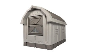 ASL Solutions Insulated Dog Palace with Floor Heater