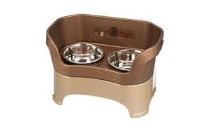 premium pick raised dog bowl