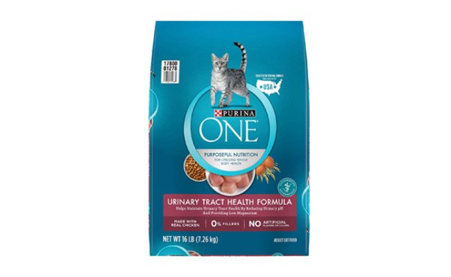 purina one cat food for urinary tract health
