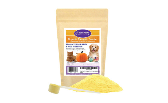 raw paws organic pumpkin powder