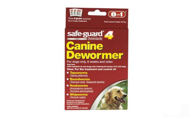 safe guard canine dewormer