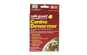 safeguard canine dewormer