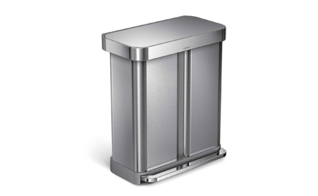 simplehuman dog proof trash can