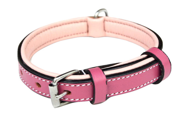 soft touch collars dog leather collar