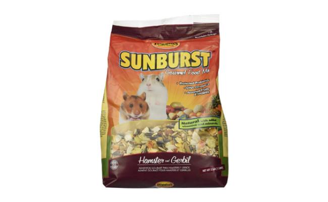 sunburst gerbil food