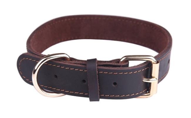 taglory dog leather collar