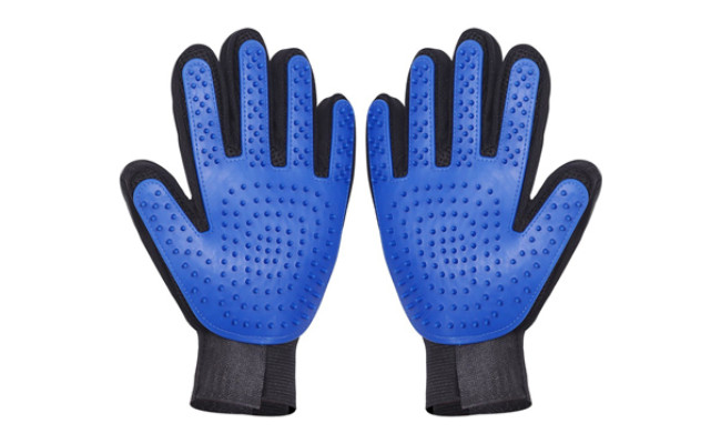 thanger pet grooming glove