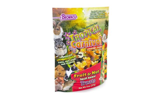 tropical carnival food for gerbils