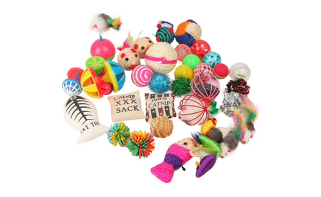 variety pack cat toys
