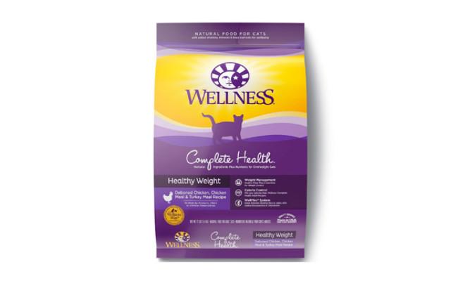 wellness healthy weight cat food