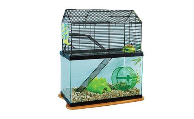 you and me gerbil cage