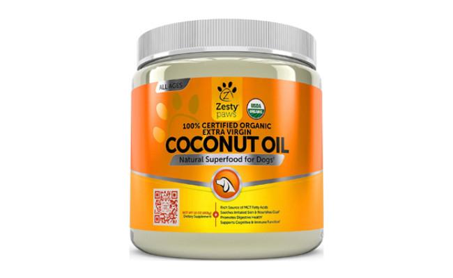zesty paws coconut oil