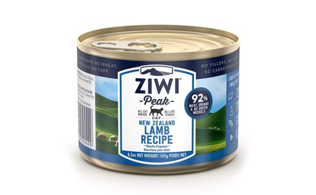 ziwi peak lamb recipe cat food