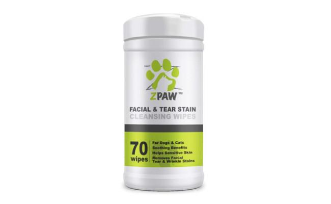 zpaw dog tear stain wipes